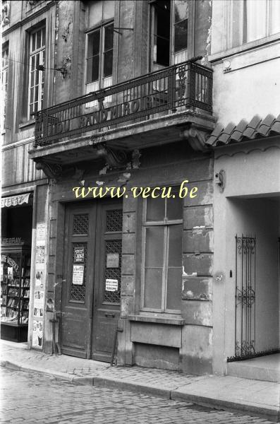 Photos anciennes de bruxelles rue de la montagne h tel for La maison du miroir