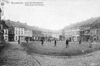carte postale ancienne de Willebroeck Place Louis De Naeyer
