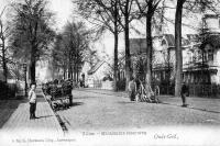 carte postale ancienne de Mortsel Oude-God - Villas Mechelscheesteenweg