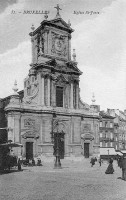 carte postale ancienne de Saint-Josse Eglise Saint-Josse