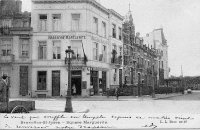 carte postale ancienne de Saint-Josse Square Marguerite