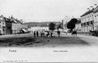carte postale ancienne de Forest Place communale