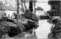 carte postale ancienne de Forest La Senne