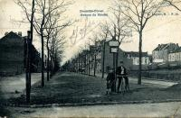 carte postale ancienne de Forest Avenue du moulin