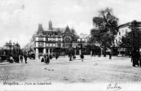 Cartes postales anciennes de bruxelles boulevard du for Boulevard du jardin botanique bruxelles
