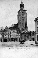 carte postale ancienne de Tournai Eglise Sainte Marguerite