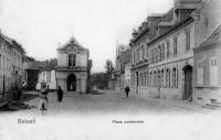 carte postale ancienne de Beloeil Place Communale
