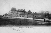 carte postale ancienne de Manage La Station