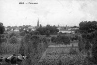 carte postale ancienne de Hyon Panorama