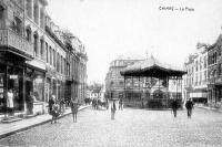 carte postale ancienne de Chimay La Place