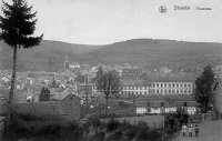 carte postale ancienne de Stavelot Panorama