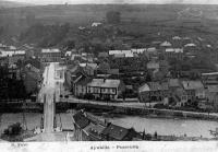 carte postale ancienne de Aywaille Panorama
