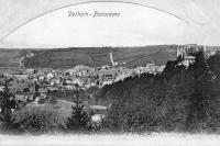 carte postale ancienne de Dolhain Panorama