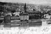 carte postale ancienne de Tilff Panorama