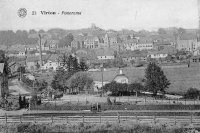 carte postale ancienne de Virton Panorama
