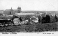 carte postale ancienne de Saint-Hubert Panorama