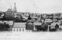 carte postale ancienne de Walcourt Panorama