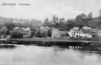 carte postale ancienne de Rouillon Panorama
