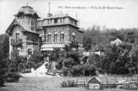 carte postale ancienne de Beez Villa de Mr Henri Gazet
