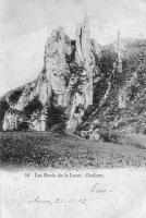 carte postale ancienne de Houyet Les bords de la Lesse - Chaleux