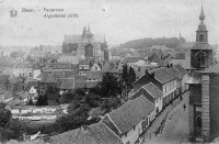 carte postale ancienne de Diest Panorama