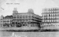 carte postale ancienne de Heyst Casino Royal