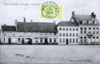 carte postale ancienne de Meulebeke Grand'Place