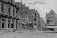 carte postale ancienne de Nieuport Grand'Place